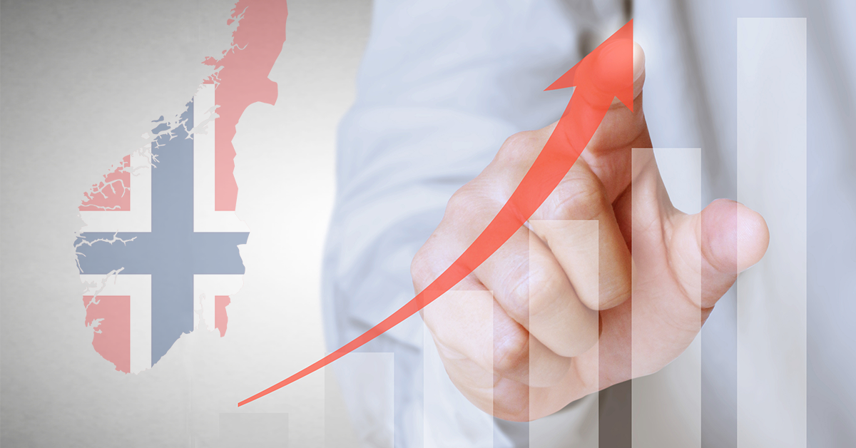PRINCE2 vokser raskere i Norge enn noe annet land