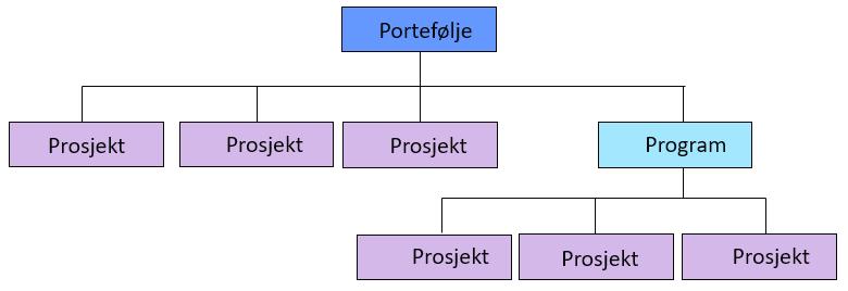 prosjekt-program-portefølje